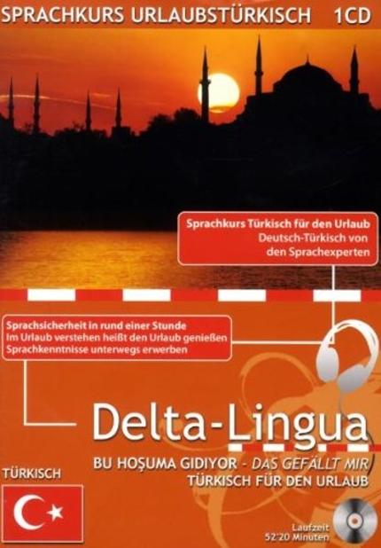Sprachkurs Urlaubstürkisch, 1 Audio-CD + Kursbuch
