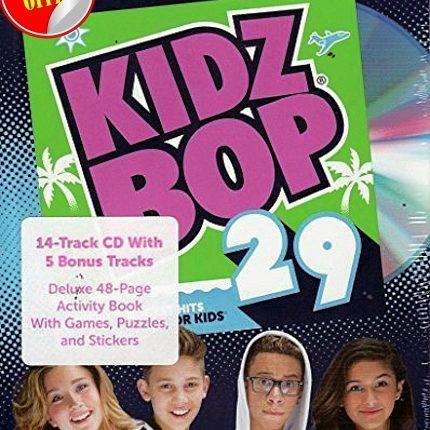 Kidz Bop 29 – Deluxe Zinepak Edition CD