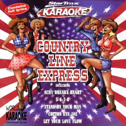 Country Line Express – Karaoke Playbacks - Gebraucht - Front-Bild