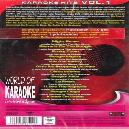 Karaoke Disco Hits Vol.1 – DVD - RS