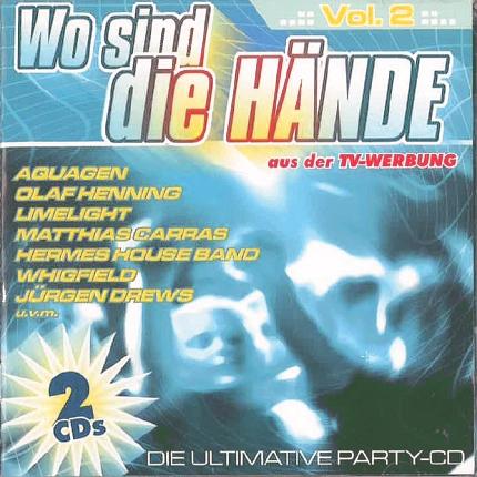 Wo Sind die Hände – Partymusik ohne Ende - 2 CD-Set – Gebraucht - Frontbild