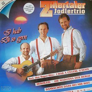 Zillertaler Jodlertrio – I Hab Di So Gern – Gebraucht-CD