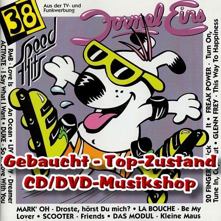 Front - FORMEL EINS - 38 SPEED HITS - 2 CD-SET – Gebraucht - TOP