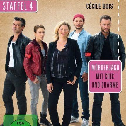 Candice Renoir - Staffel 4 - FrontCover DVD