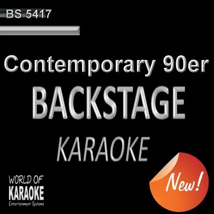 Contemporary 90er – Karaoke Playbacks – BS 5417