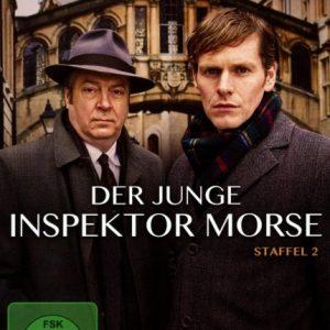 Der junge Inspektor Morse – Staffel 2 – 2-DVD-Set -Neu