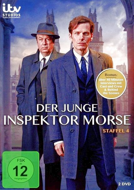 Der junge Inspektor Morse - Staffel 4 – 2-DVD-2 - Neu