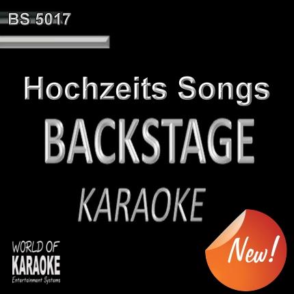 Hochzeits Songs – Karaoke Playbacks – BS 5017