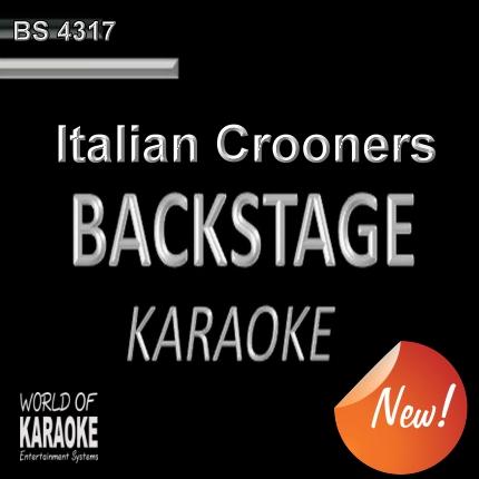 Italian Crooners – Karaoke Playbacks – BS 4317