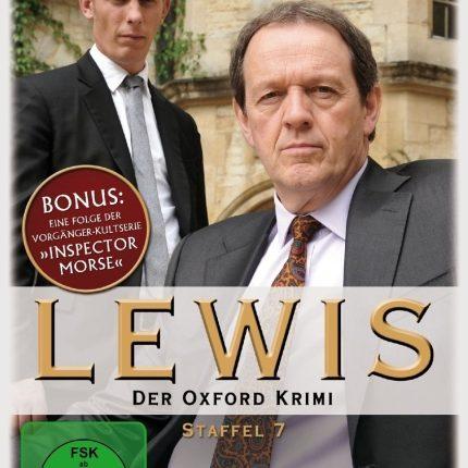 Lewis - Der Oxford Krimi - Staffel 7 – 4-DVD-Set - Neu