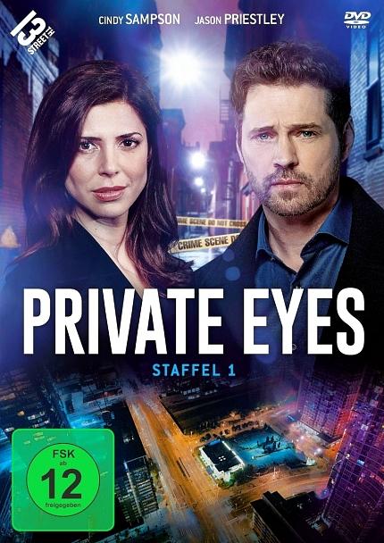 Private Eyes - Staffel 1 – 3-DVD-Set – Neu