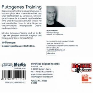 Autogenes-Training-CD-Rückseite